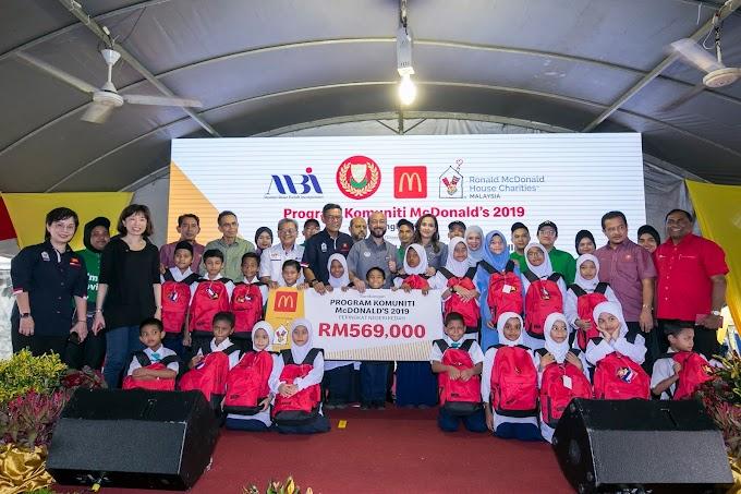 RM560,000 Dari McD Untuk Orang Kedah