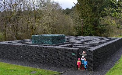 Minotaur maze at Kielder