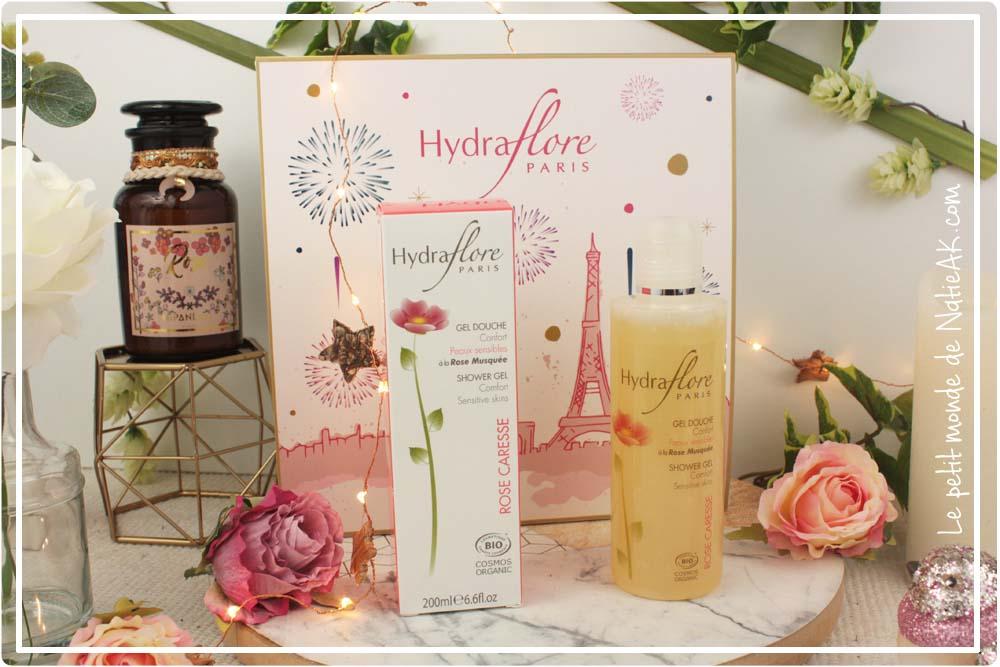 Gel douche bio à la rose musquée HYdraflore