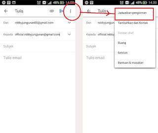 cara mengirim email terjadwal di gmail