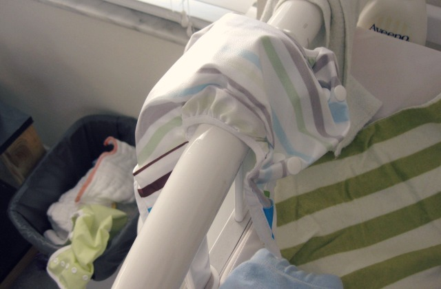Changing a Cloth Diaper