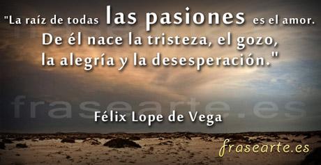Frases de amor, Lope de Vega