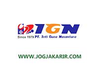 Loker Jogja Februari 2021 di IGN (Nugraha Stationery Group)