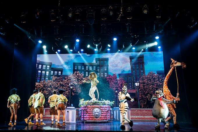 Espetáculo Madagascar, Uma Aventura Musical desembarca no Rio de Janeiro
