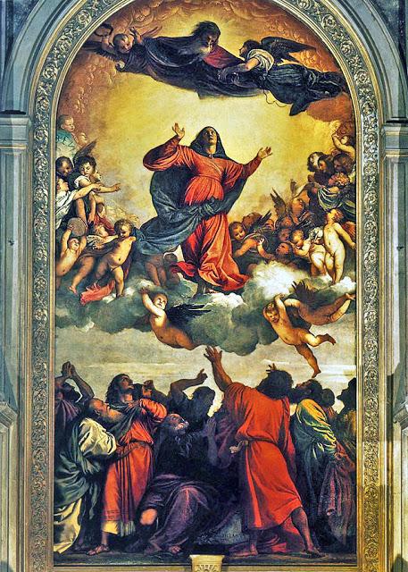 Assunta 1516 - 1518 - Tiziano  Basilica di Santa Maria Gloriosa dei Frari - Venezia