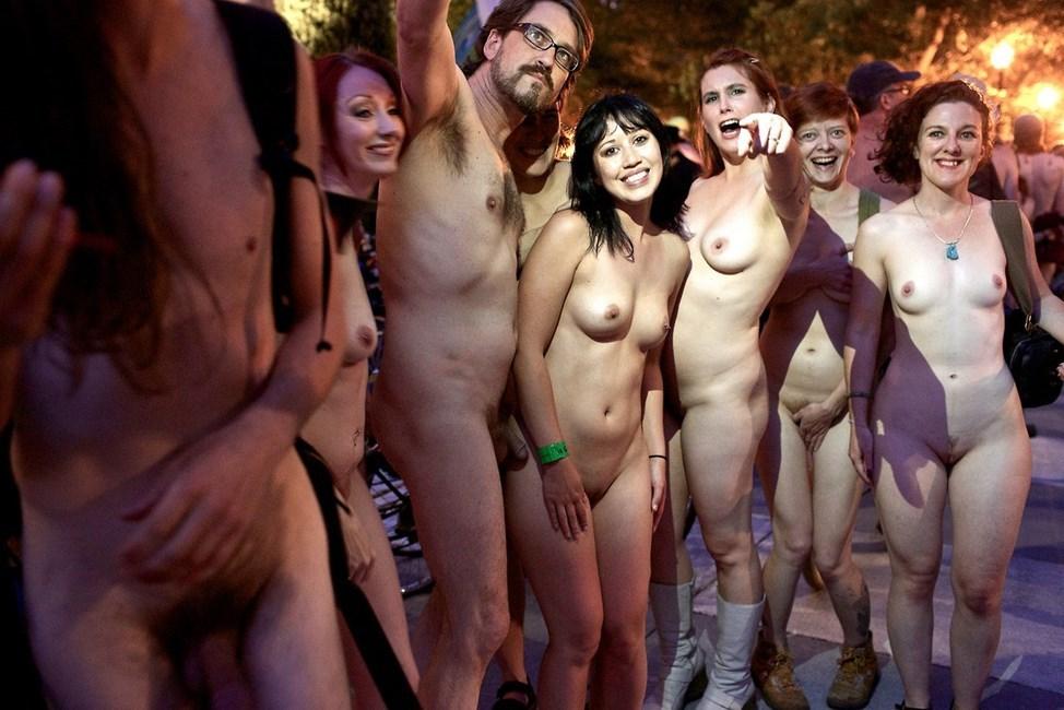 Mass nudity