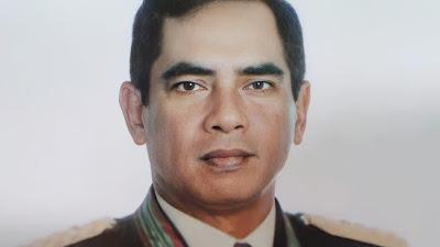 Mantan KSAD Era 1993-1995 Meninggal, Kodim 0429/Lamtim Serentak Kibarkan Bendera Setengah Tiang