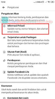 cara mengetahui email fb lewat hp