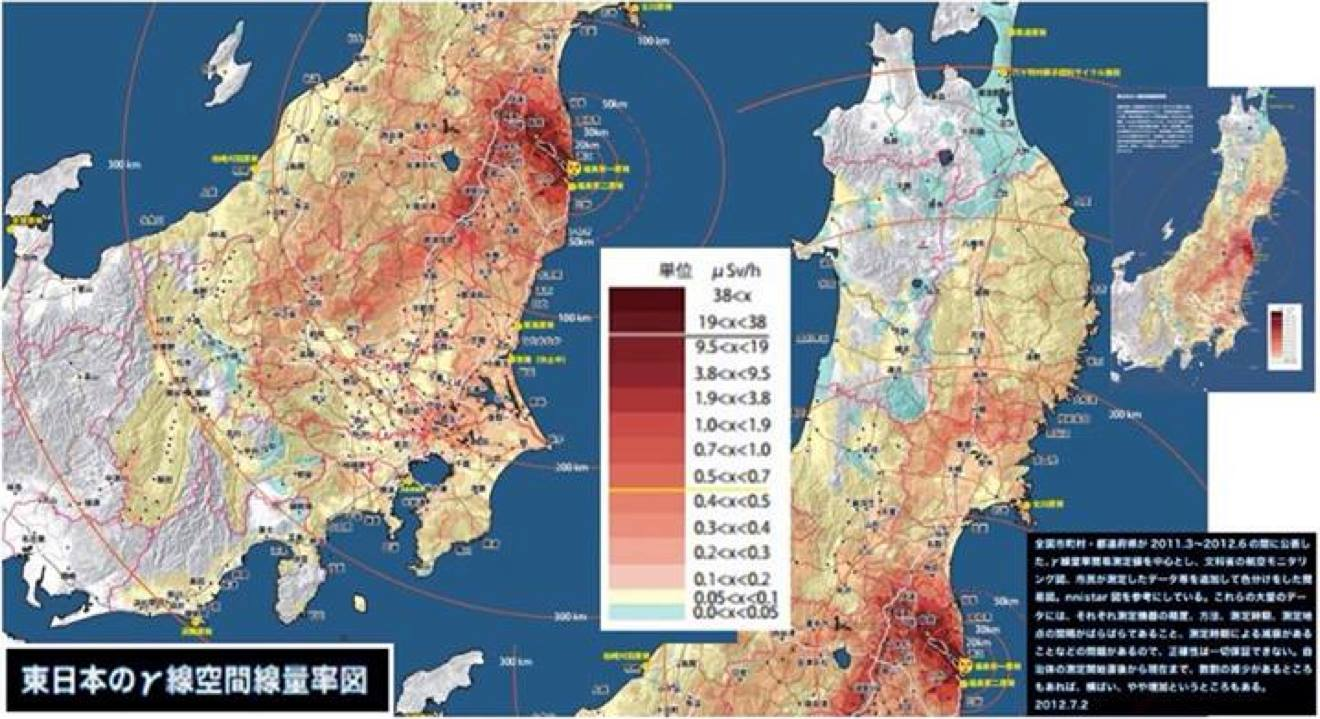 Japanese Food Radiation Contamination