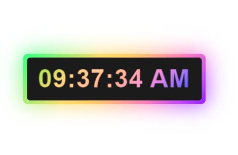 Hướng dẫn tạo Digital Clock cho blogspot