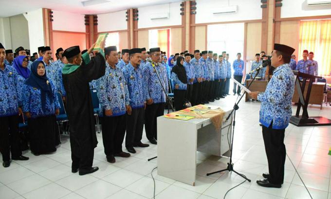 Kepala UPTD Pendidikan dan Pejabat Fungsional Soppeng Diminta Untuk Berinovasi