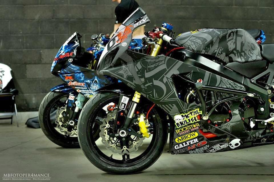 Mercenary Garage Motorcycle Wrap