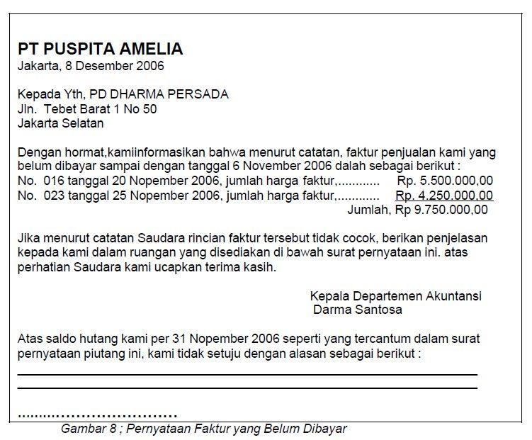 Contoh Surat Pernyataan Untuk Tax Amnesty Contoh Tiap