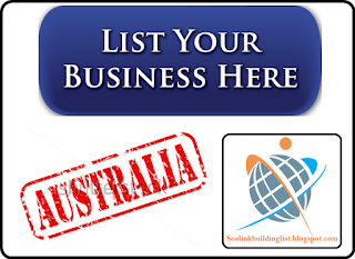 top high pr business listing sites list for Australia