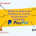 Retirar dinero de PayPal por Bancolombia o cualquier banco en Colombia