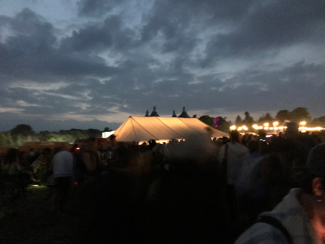 As the evening draws in at the End of the Road Festival 2021