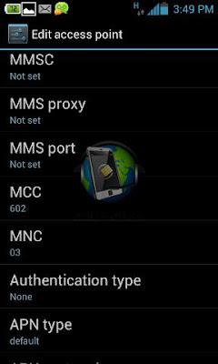 طريقة إضافة اسم نقطة وصول APN يدويا لشبكة اتصالات مصر على هواتف أندرويد