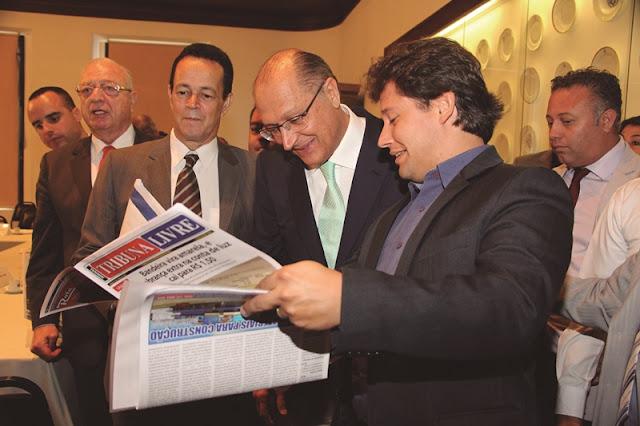 Em encontro com jornais regionais, Alckmin destaca a importância da imprensa do interior