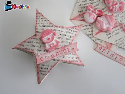 stella origami riciclando un vecchio libro