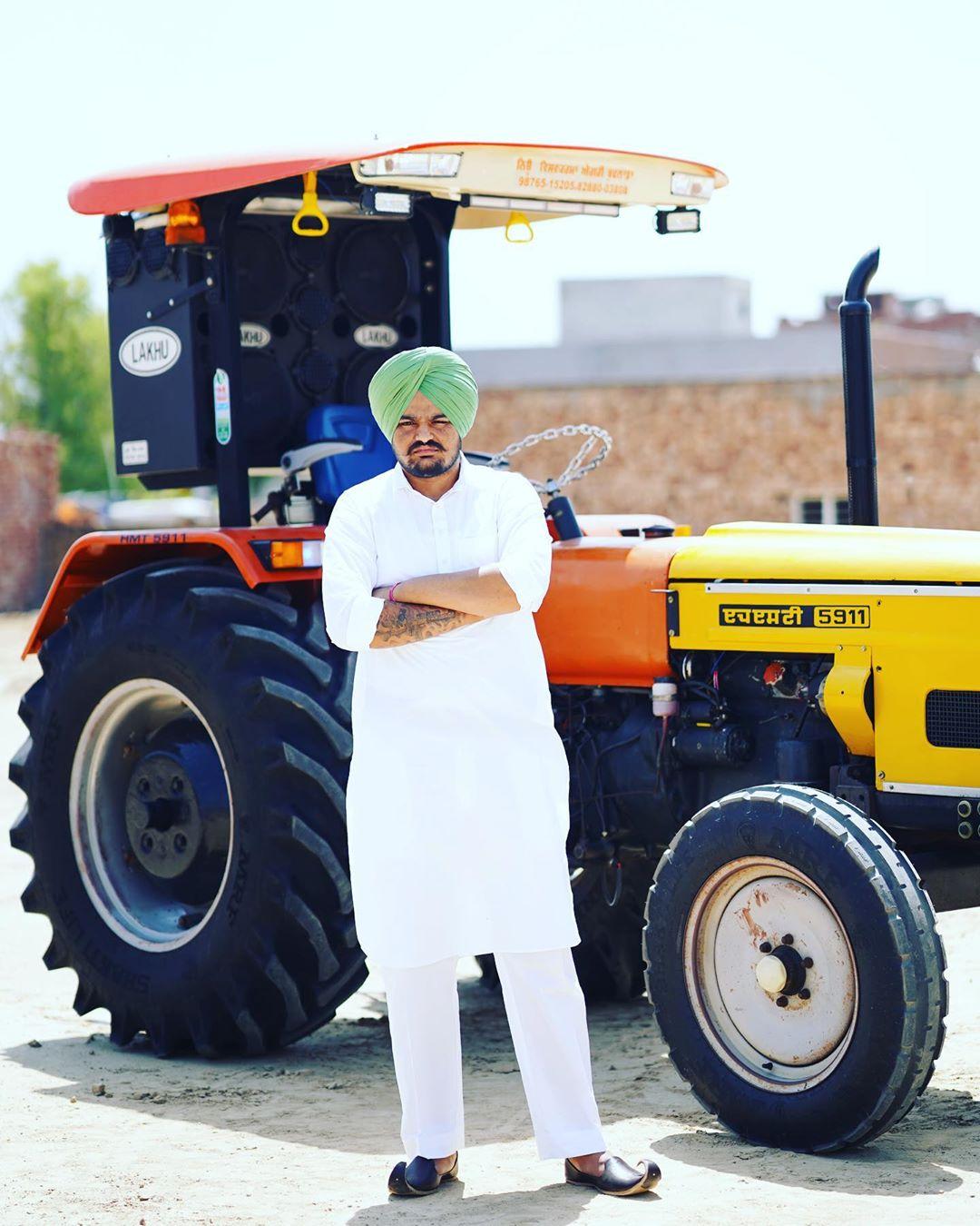 Sidhu Moose Wala Tractor