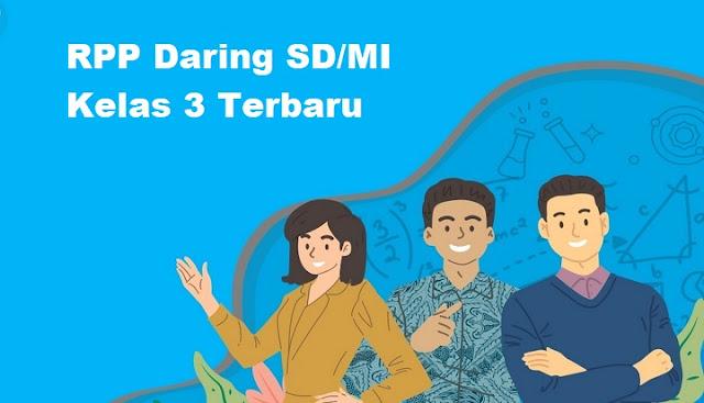 RPP Daring SD/MI Kelas 3 Terbaru