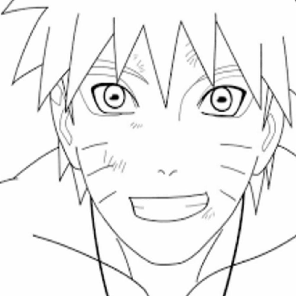 Nah sekarang kita sama sama mewarnai wajah tokoh favorit kita yaitu Uzumaki narotu yuk kita mewarnai bersama siapa nanti yang paling bagus mewarnai wajah