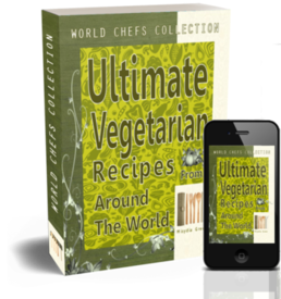 World chef collection ultimate vegetarian recipes eBook cover image