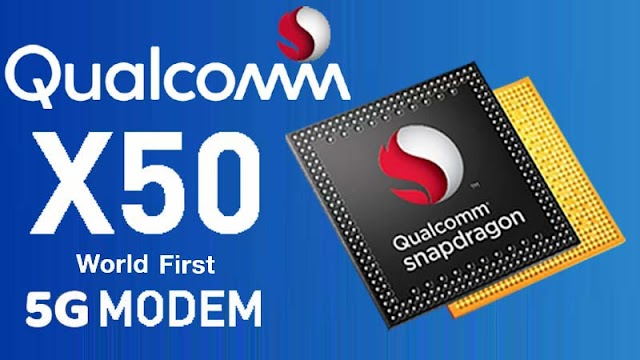 Qualcomm X50, World's First 5G Modem, 5 movies download in a second