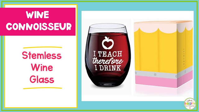 Looking for teacher gift ideas she will love? A stemless wine glass is something she is sure to love.