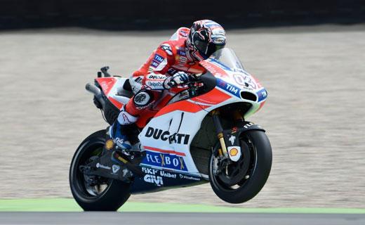 FP1 Sachsenring: Andrea Dovizioso Keluar Jadi Yang Tercepat, Rossi Ke-16