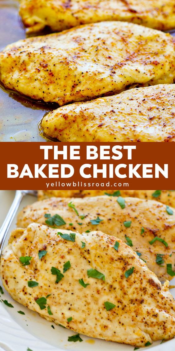 Baked Chicken Breasts Recipes