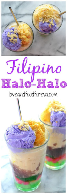 Halo-Halo Filipino Dessert