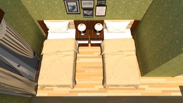 desain interior kamar tidur jogja