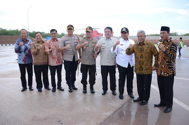 Tol Terpeka Resmi Operasional, Kayuagung – Palembang Segera Fungsional