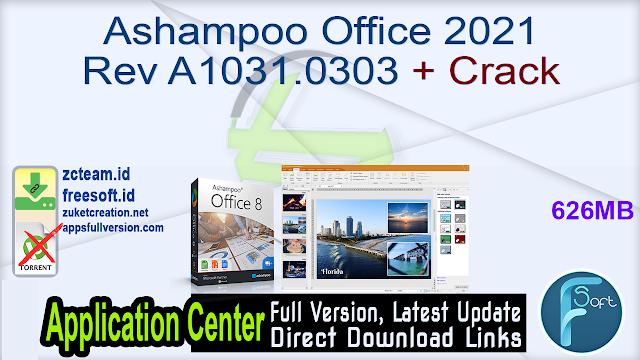 Ashampoo Office 2021 Rev A1031.0303 + Crack_ ZcTeam.id