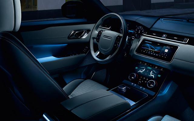Tiện nghi của Range Rover Velar có thể liệt kê thành list rất dài