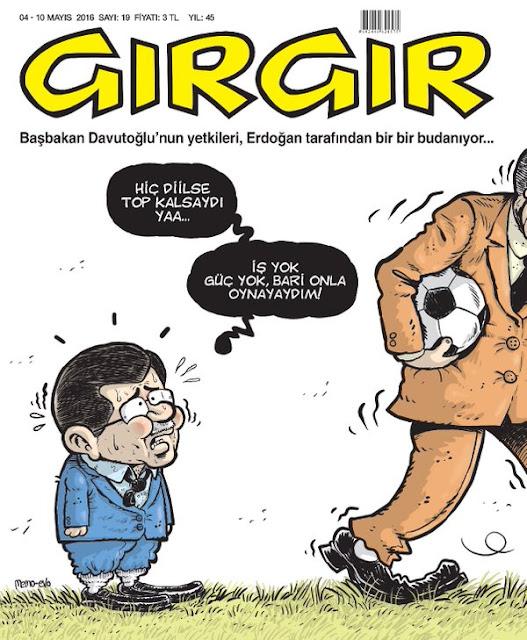 Gırgır Dergisi - 04-10 Mayıs 2016 Kapak Karikatürü