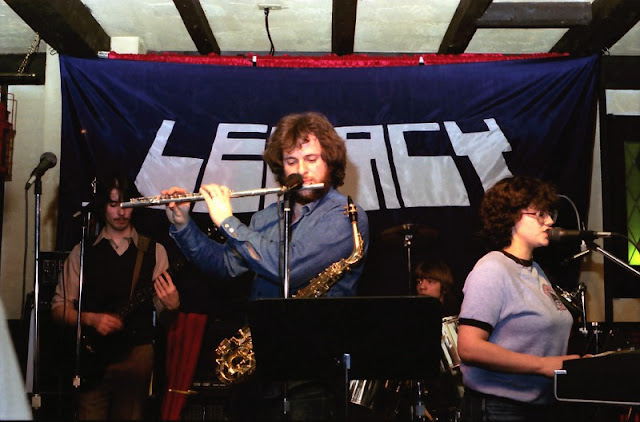 Our Director, Pete, with his Rock band LEGACY in 1985.