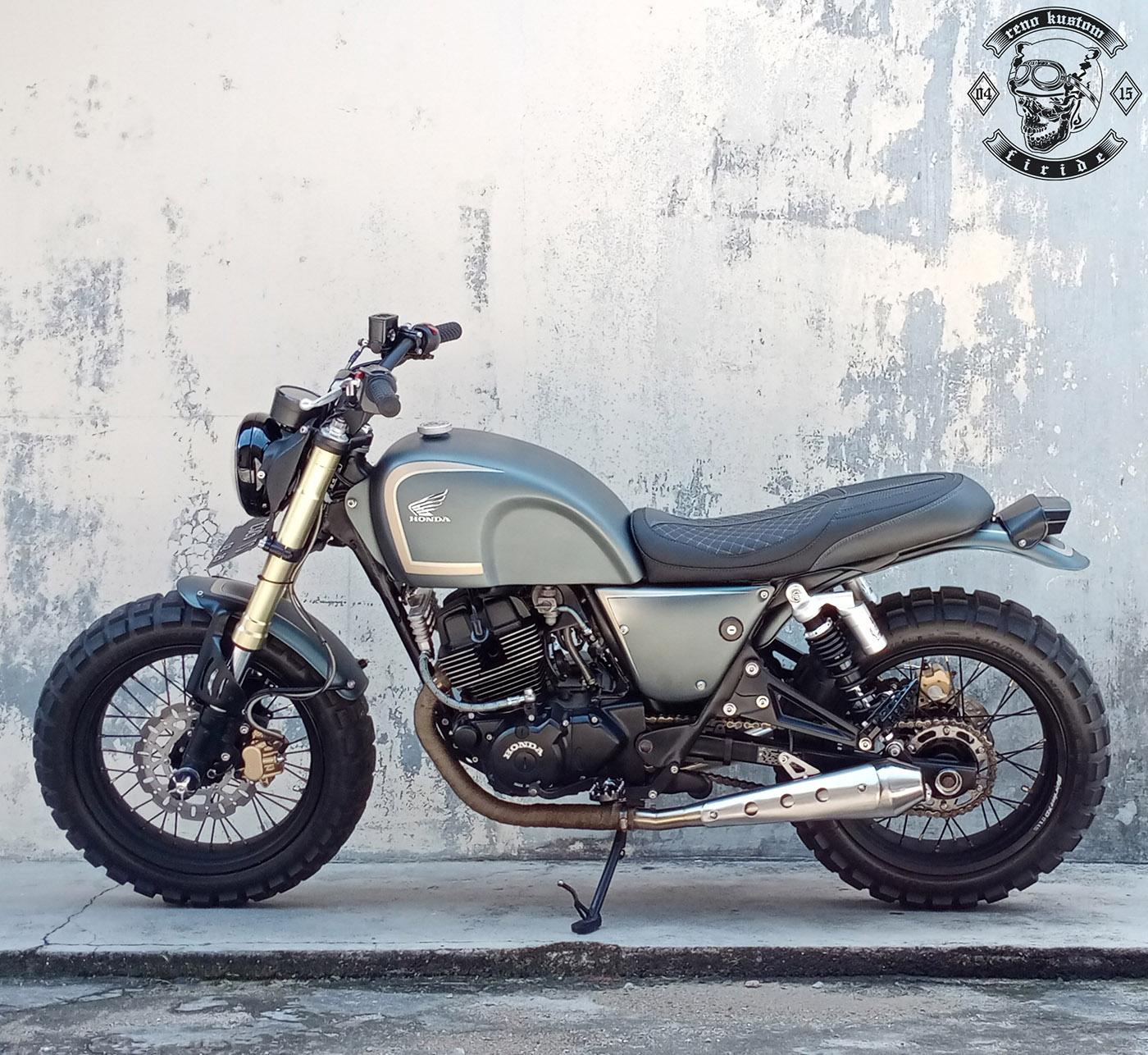 Motor Custom Honda CB250