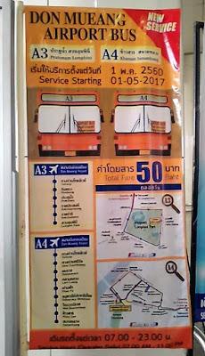 bus airport don Muang Bangkok