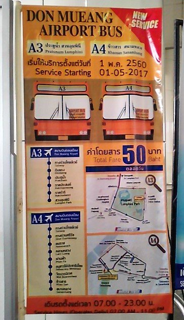 bus airport don Muang Bangkok