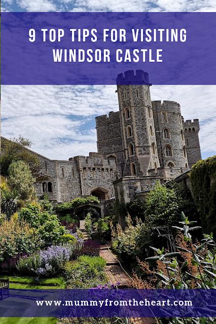 Visiting Windsor Castle pin