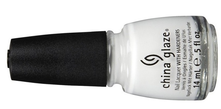 China glaze white polish