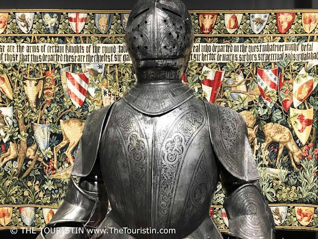 Latvia. House of Blackheads Riga, Knight. The Touristin