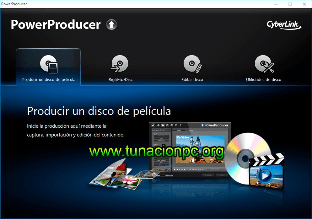 CyberLink PowerProducer Ultra Imagen