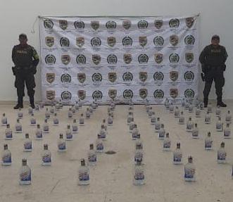 Cinco millones $700 mil en pólvora y licor adulterado se incautaron en Aguachica