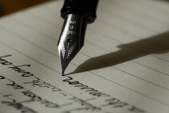 مواضيع باللغة الإنجليزية writing
