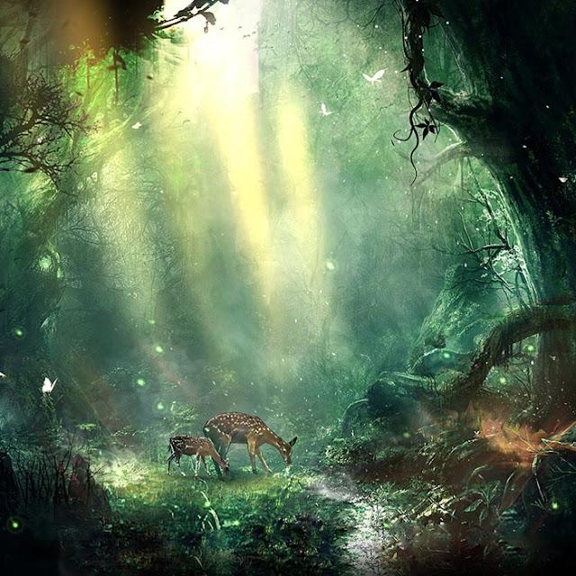 Fantasy Jungle Wallpaper Engine