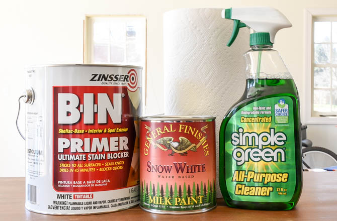 The best primer and cleaner for furniture makeovers