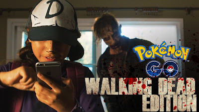 Pokemon GO - Walking Dead Edition with Clementine and Lee